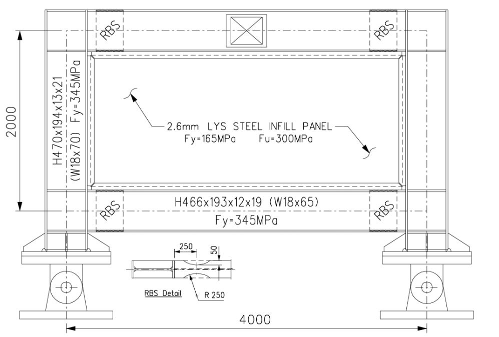 LYS STEEL PLATE SHEAR WALL