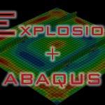 explosion + abaqus