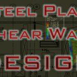 طراحی دستی دیوار برشی فولادی