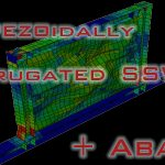 Experimental study on cyclic behavior of trapezoidally corrugated steel shear walls