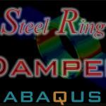 صحت سنجی نمونه آزمایشگاهی حلقه فولادی steel ring